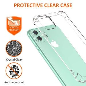 iPhone 12 mini clear case shockproof thin case